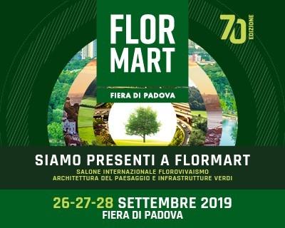 Flormart 2019 . Al via la 70ma edizione, il 26-27-28 Settembre  a Padova