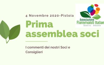 Prima Assemblea Florovivaisti Italiani – Mini interviste ai soci
